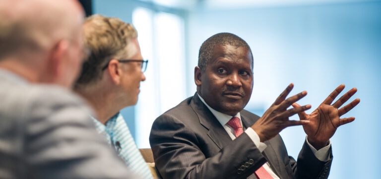 What Me and Nigeria's  Aliko Dangote had in common  – Bill Gates