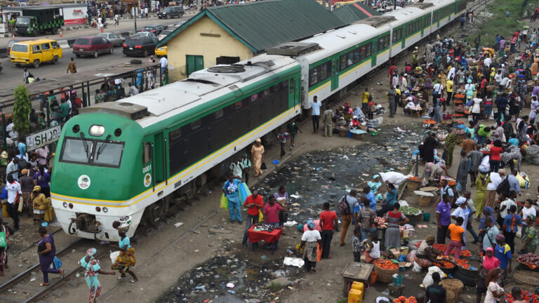 Railway will support Nigeria's industrialisation, economic growth -Buhari