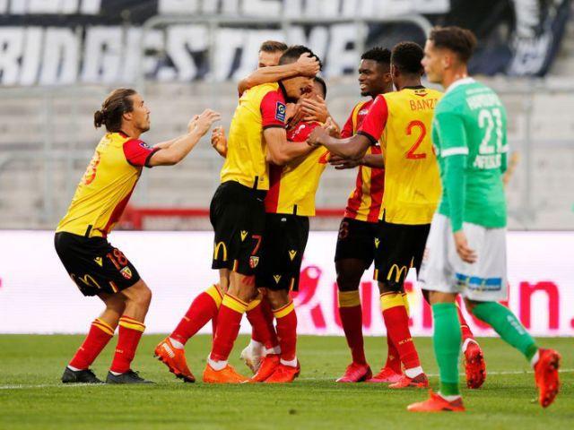 Lens beats Saint Etienne up second place in Lique 1