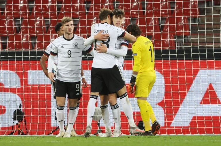 Germany recover twice in topsy-turvy 3-3 draw with Swiss