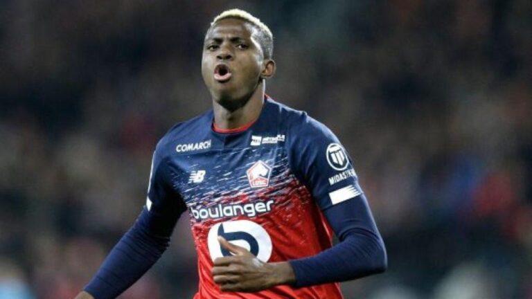 Nigerian Victor Osimhen scores first goal as Napoli thump Atalanta 4-1
