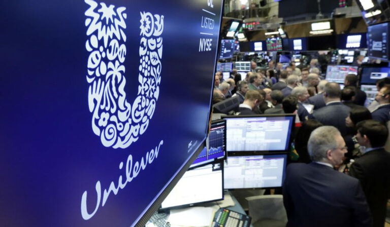 Unilever removed from Stoxx 50 due to headquarters move