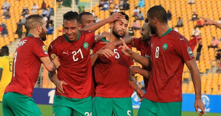 Title-holders Morocco reach 2020 CHAN quarter-finals after spanking Uganda
