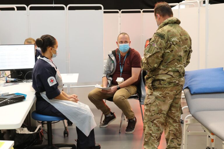 UK army establishes 80 COVID-19 vaccination centres in Scotland – Ministry