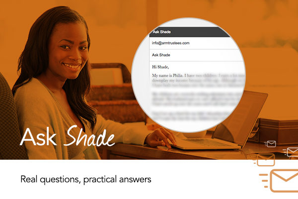 Ask Shade About Trusts: How Can I Convince my Husband to Plan for Our Children's Future?