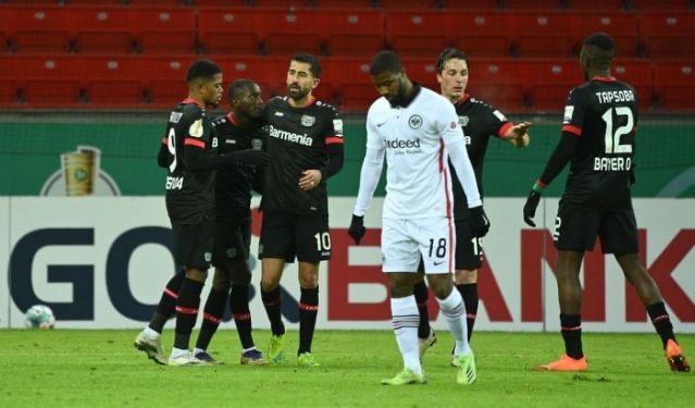 Bayer Leverkusen rally to beat Eintracht Frankfurt in German Cup