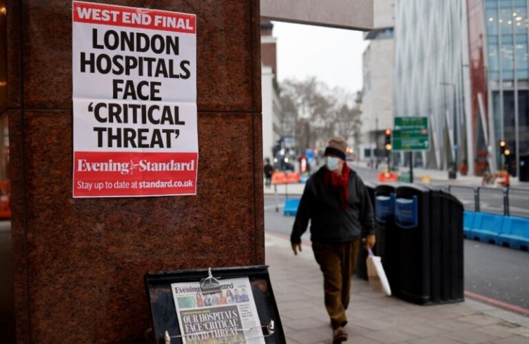 London declares emergency over 'out of control' coronavirus