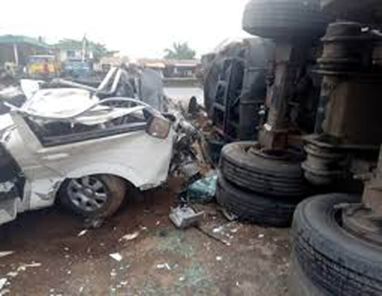 FRSC records 10, 522 crashes nationwide in 2020