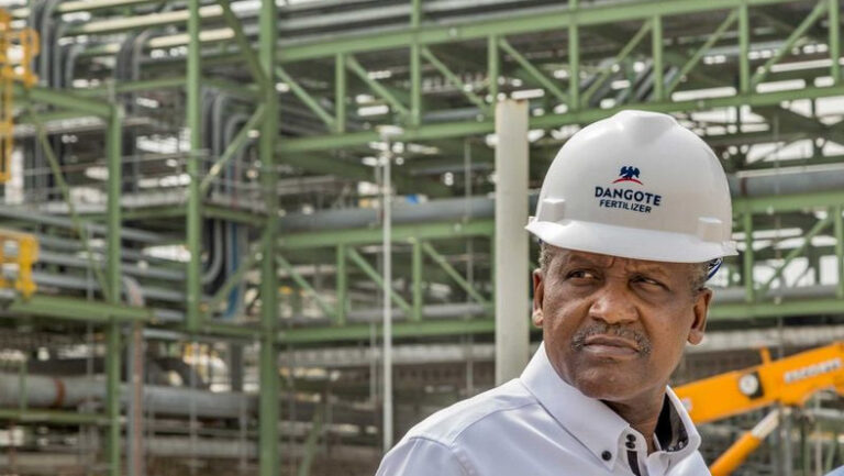 Dangote $2.5 billion fertilizer plant to commence operations in March