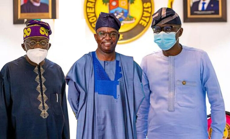 2023  Lagos Guber: Sanwo-Olu's 2nd term ambition in limbo as Tinubu plays Tokunbo Abiru's takeover chess