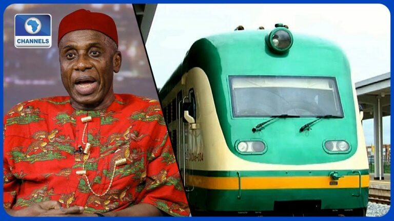 NIgeria borrowed $2.5 billion from China for construction of Lagos-Ibadan rail line – Amaechi