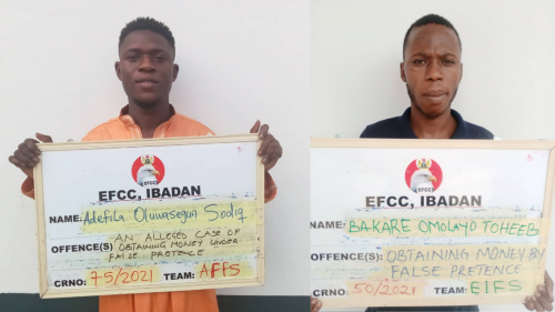 Court Jails Five for Internet Fraud in Ibadan
