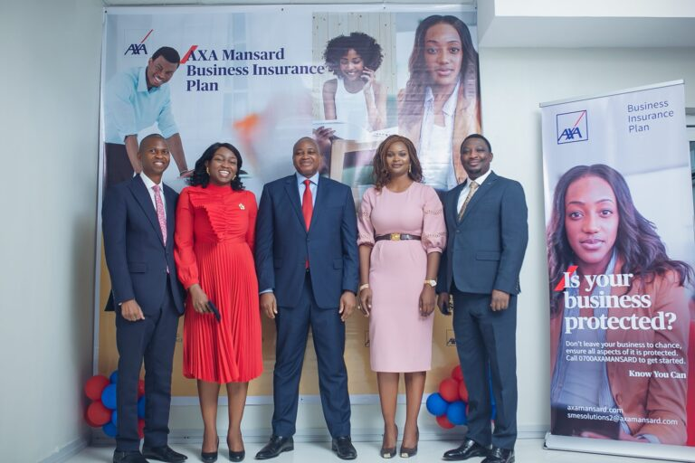 AXA Mansard Promotes SMEs in Nigeria; Launches Business Insurance Plan