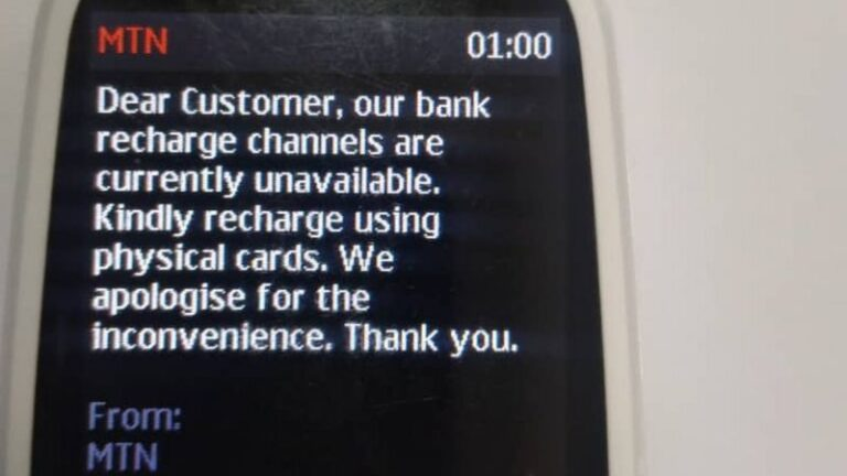 Millions of customers cannot buy credit for their phones as banks suspend MTN Nigeria Online Airtime Sales