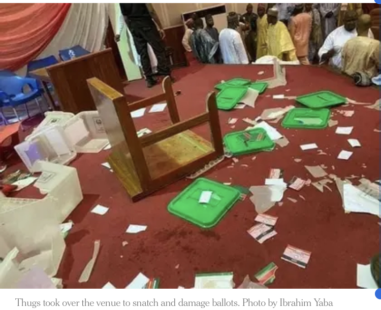 PDP Zonal Congress Ends In Chaos, Thugs Snatch Ballot