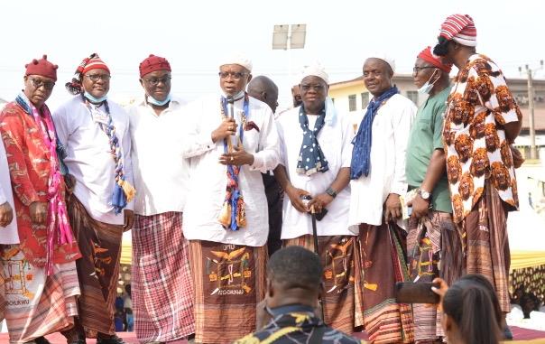 Otti, Ohuabunwa, Ijoma, others bid Eze Aro farewell