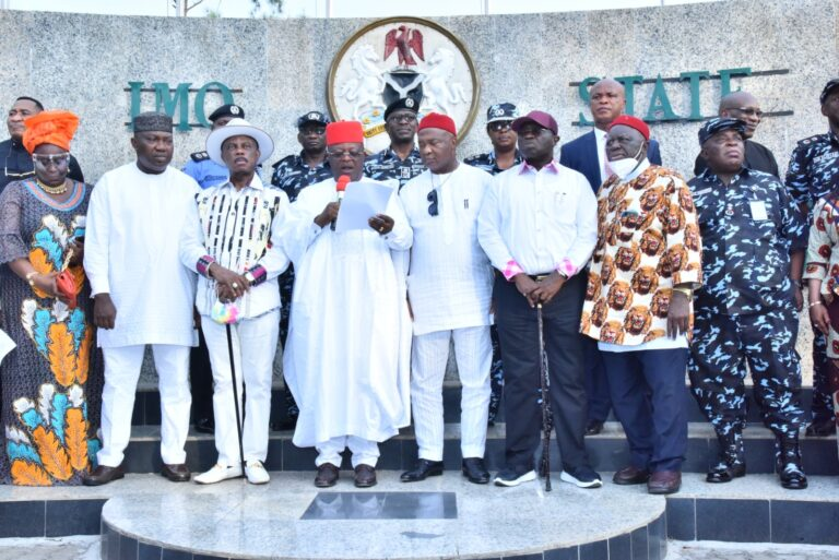 South East governors, stakeholders unite to floats 'EBUBE AGU' to fight insecurity