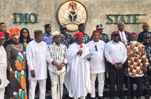 South-East Governors, Politicians Unite for First Time, Shun IPOB's  Eastern Security Network, Launch Regional Security Outfit, EBUBE AGU
