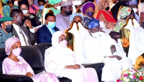 Despite Nigeria's budget deficit, rising poverty rate, Tinubu, Rabiu, Alakija, Adebutu others slams million-Naira donations at Aisha Buhari's Book Launch