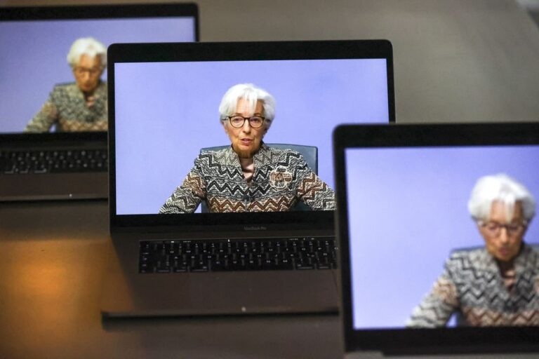 Lagarde sees strong rebound for EU economy in second half, expects U.S. to meet inflation goal soon