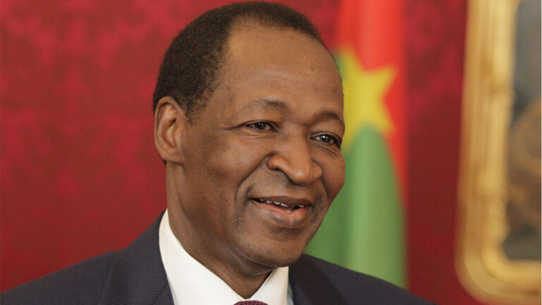 Burkina ex-president Compaore to face trial for predecessor's murder: lawyers